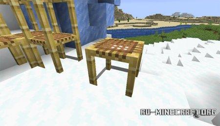 Строительные леса в Minecraft 1.14 (2)