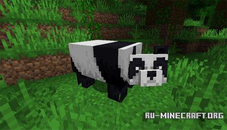 Панда в Minecraft 1.14 (1)
