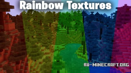 Скачать SG Rainbow Environments для Minecraft PE 1.8