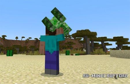 Скачать Throwable Creepers для Minecraft PE 1.7