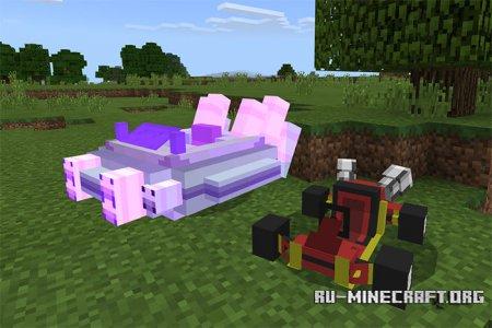Скачать Crash Team Racing для Minecraft PE 1.8