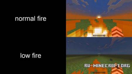 Скачать Low Fire для Minecraft PE 1.8