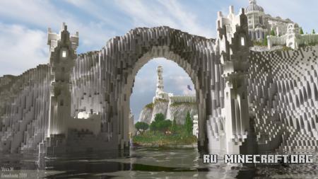 Скачать Edhellond - Haven of Gondor для Minecraft