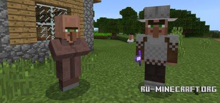 Скачать Guard Villager для Minecraft PE 1.8