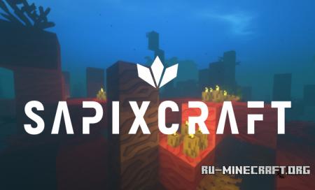 Скачать SapixCraft Original [512x] для Minecraft 1.13