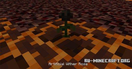 Скачать Wither Rose для Minecraft PE 1.8