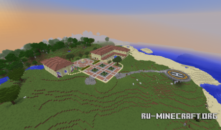 Скачать The Villa by Youtubeboy139 для Minecraft