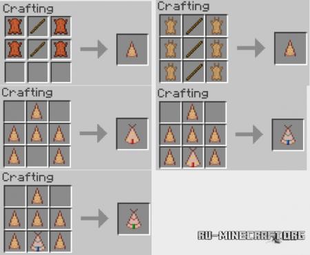 Скачать Nomadic Tents для Minecraft 1.11.2