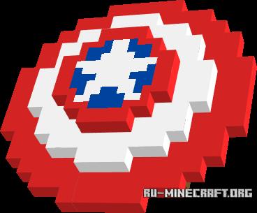 Скачать Cap's Shield для Minecraft PE 1.10