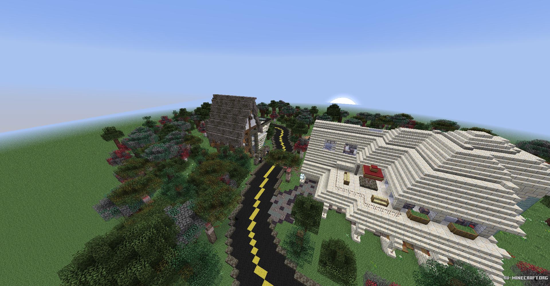 Скачать AlphaHouse для Minecraft