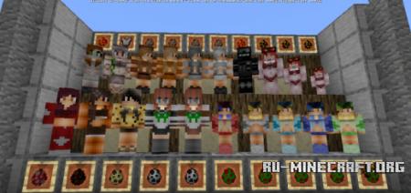 Скачать Gijinka для Minecraft PE 1.10