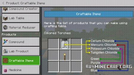 Скачать Chemistry Guide для Minecraft PE 1.10