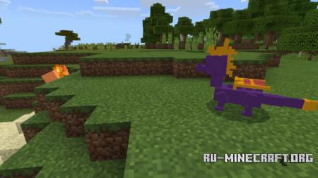 Скачать Spyro The Dragon для Minecraft PE 1.9
