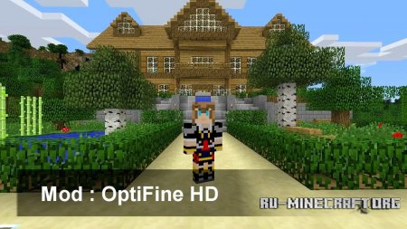 Скачать Optifine для Minecraft 1.13.2