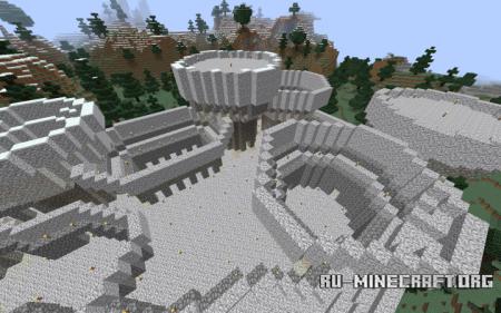 Скачать Extreme Hills Castle для Minecraft