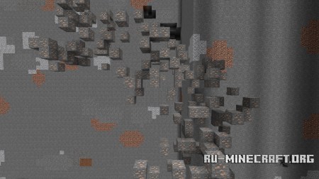 Скачать Realistic Ore Veins для Minecraft 1.13.2
