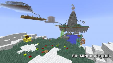 Скачать Skybounds Parkour для Minecraft