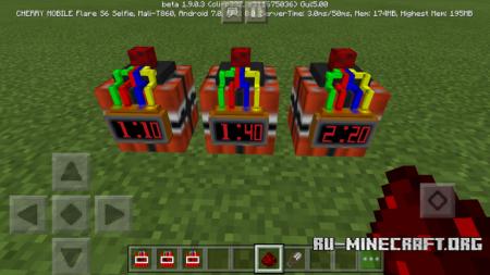 Скачать Time Bomb для Minecraft PE 1.9