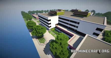 Скачать School Building by Bodykill для Minecraft