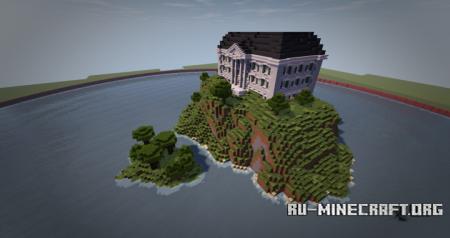 Скачать Dhor BuildingTeam - White Mansion для Minecraft