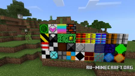 Скачать More Blocks для Minecraft PE 1.9