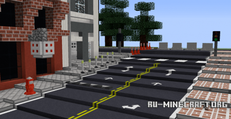 Скачать Traffico для Minecraft 1.12.2