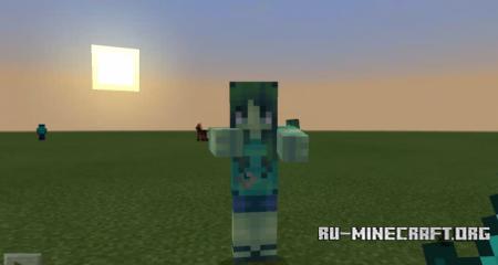 Скачать More Zombies для Minecraft PE 1.9