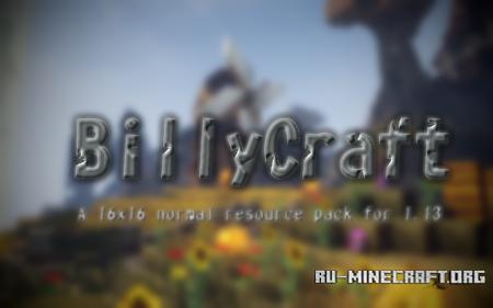 Скачать BillyCraft [16x] для Minecraft 1.13