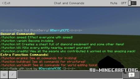 Скачать BlockBerry Studios для Minecraft PE 1.9