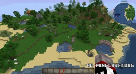 Скачать Forest Island by shishiao для Minecraft