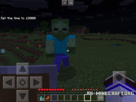 Скачать Better Mobs Animation для Minecraft PE 1.10