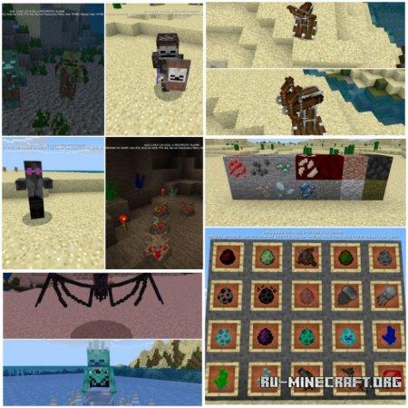 Скачать Bedrock 2.0 для Minecraft PE 1.11
