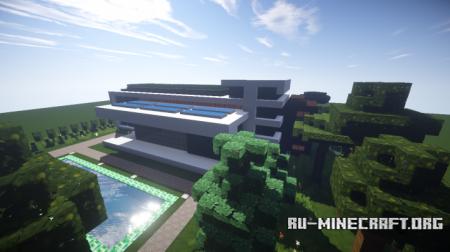 Скачать Modern House 10 by Pexter для Minecraft