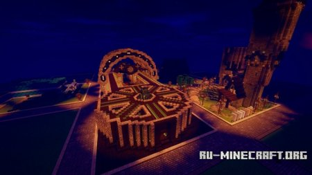 Скачать Space Station on World Of Wizards Online для Minecraft