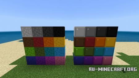 Скачать Tetrimino Concrete для Minecraft PE 1.10
