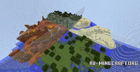 Скачать Biome Sphere для Minecraft