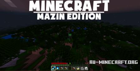 Скачать MazinPack [8x8] для Minecraft PE 1.10