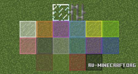Скачать Horizontal Glass Panes для Minecraft 1.13.2