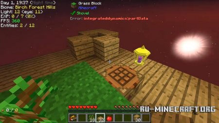 Скачать Modern Skyblock 3: Departed для Minecraft 1.12.2