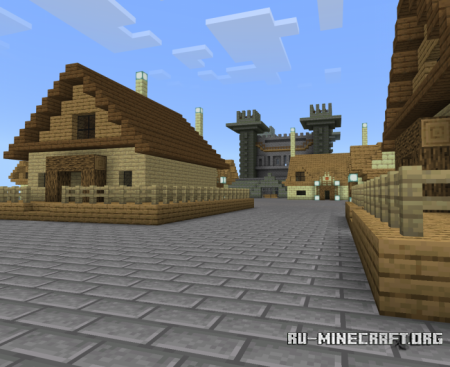 Скачать Old Town Function для Minecraft PE 1.10