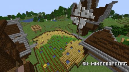Скачать Wington Village для Minecraft