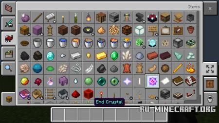 Скачать Items Rarity для Minecraft PE 1.10
