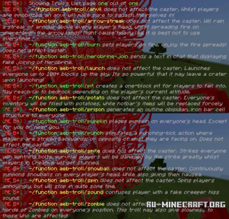 Скачать Admin Essentials Basic для Minecraft PE 1.10