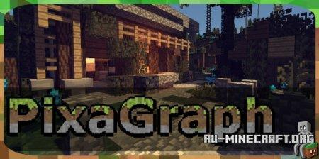 Скачать PixaGraph [16x] для Minecraft 1.14