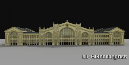 Скачать Yggdrasils Train Station для Minecraft