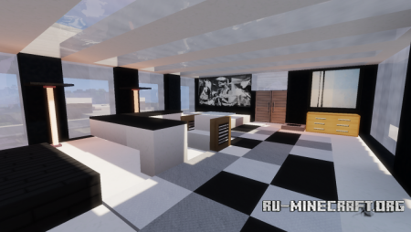 Скачать Modern Luxury Mansion by Colamonium для Minecraft