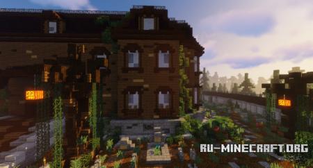 Скачать Addams Family Mansion для Minecraft