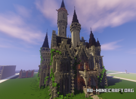 Скачать Castle by GameBuzz для Minecraft