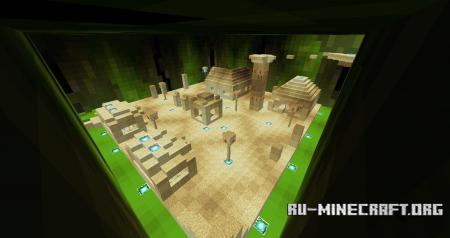 Скачать Cactus Tower Parkour для Minecraft