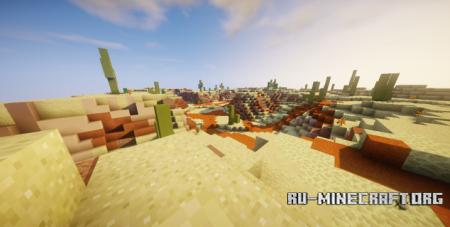 Скачать Overhead Shape - Survival для Minecraft